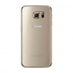 Силиконовый чехол без принта на Samsung Galaxy S6