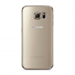 Силиконовый чехол без принта на Samsung Galaxy S6 edge