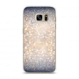 Силиконовый чехол Мерцание рисунок на Samsung Galaxy S7