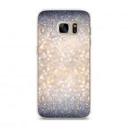 Силиконовый чехол Мерцание рисунок на Samsung Galaxy S7 edge