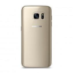 Силиконовый чехол без принта на Samsung Galaxy S7 edge