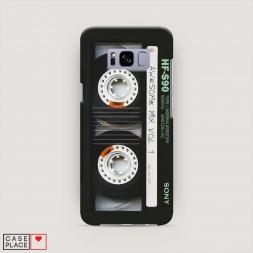 Пластиковый чехол Кассета на Samsung Galaxy S8