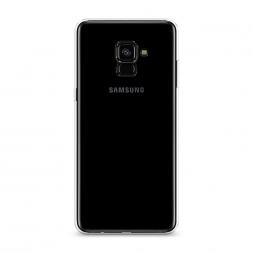 Силиконовый чехол без принта на Samsung Galaxy A8 Plus 2018