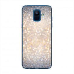 Силиконовый чехол Мерцание рисунок на Samsung Galaxy A6