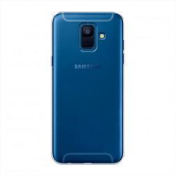 Силиконовый чехол без принта на Samsung Galaxy A6