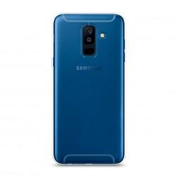 Силиконовый чехол без принта на Samsung Galaxy A6 Plus