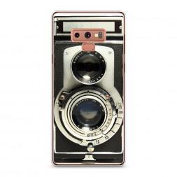 Силиконовый чехол Старинный фотоаппарат на Samsung Galaxy Note 9