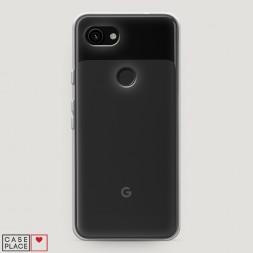 Силиконовый чехол без принта на Google Pixel 3a