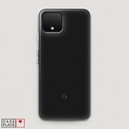 Силиконовый чехол без принта на Google Pixel 4