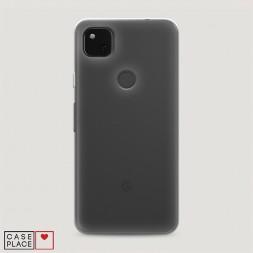Силиконовый чехол без принта на Google Pixel 4A