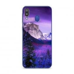 Силиконовый чехол Лес 20 на Samsung Galaxy M20