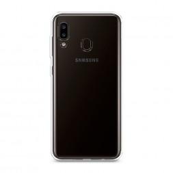 Силиконовый чехол без принта на Samsung Galaxy A20
