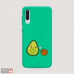 Эко-чехол Авокадо и ядрышко на Samsung Galaxy A50