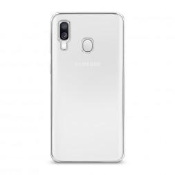 Силиконовый чехол без принта на Samsung Galaxy A40