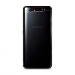 Силиконовый чехол без принта на Samsung Galaxy A80