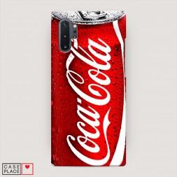 Пластиковый чехол Кока Кола на Samsung Galaxy Note 10 Plus