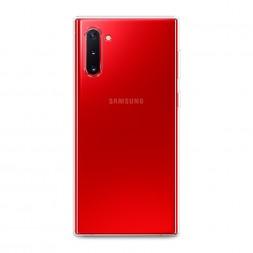 Силиконовый чехол без принта на Samsung Galaxy Note 10