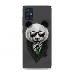 Силиконовый чехол Деловая панда