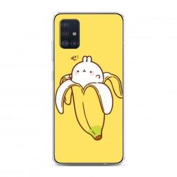 Силиконовый чехол Зайчик-бананчик