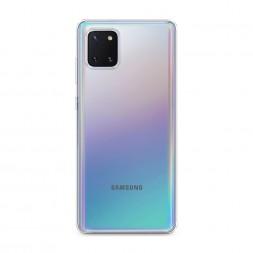 Силиконовый чехол без принта на Samsung Galaxy Note 10 Lite