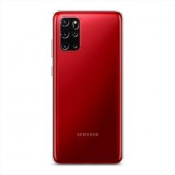 Силиконовый чехол без принта на Samsung Galaxy S20 Plus