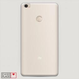 Пластиковый чехол без принта на Xiaomi Mi Max