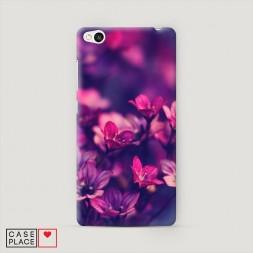 Пластиковый чехол Лиловые цветы на Xiaomi Redmi 3
