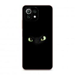 Силиконовый чехол Глаза дракона на Xiaomi Mi 11 Lite