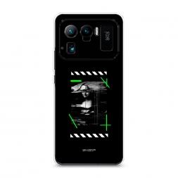 Силиконовый чехол Off-White Мона Лиза на Xiaomi Mi 11 Ultra