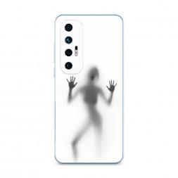 Силиконовый чехол Поцелуй призрака на Xiaomi Mi 10S