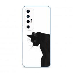 Силиконовый чехол Black cat на Xiaomi Mi 10S