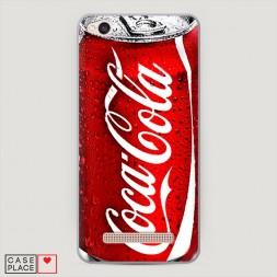 Пластиковый чехол Кока Кола на Xiaomi Redmi 4A