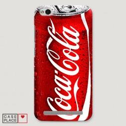 Пластиковый чехол Кока Кола на Xiaomi Redmi 5A
