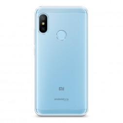 Силиконовый чехол без принта на Xiaomi Mi A2 Lite
