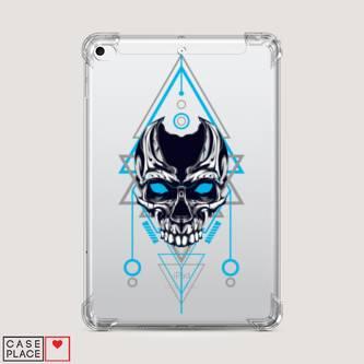 Чехол для iPad mini 1 Магический синий череп