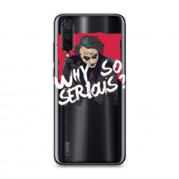 Силиконовый чехол Джокер Why на Xiaomi Mi A3 Lite