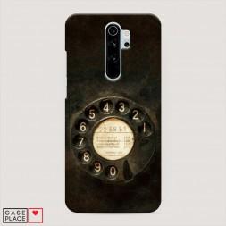 Пластиковый чехол Старинный телефон