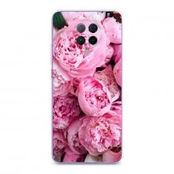 Силиконовый чехол Розовые пионы на Xiaomi Poco F2 Pro