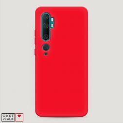 Матовый силиконовый чехол без принта на Xiaomi Mi Note 10/Mi Note 10 Pro
