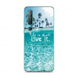 Силиконовый чехол Live it на Xiaomi Mi 10