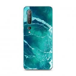 Силиконовый чехол Изумрудный океан на Xiaomi Mi 10