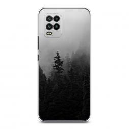 Силиконовый чехол Туманный лес на Xiaomi Mi 10 Lite