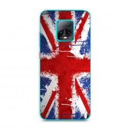 Силиконовый чехол Флаг Великобритании 2 на Xiaomi Redmi 10X Pro 5G