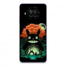Силиконовый чехол Тоторо ночь на Xiaomi Mi 10T Lite