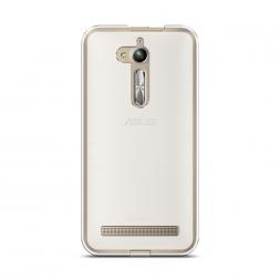 Силиконовый чехол без принта на Asus Zenfone Go ZB500KG