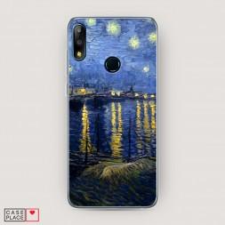 Cиликоновый чехол Звездная ночь над Роной на Asus Zenfone Max Pro (M2) ZB631KL