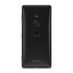 Силиконовый чехол без принта на Sony Xperia XZ2