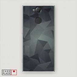 Cиликоновый чехол Геометрия 31 на Sony Xperia XA2
