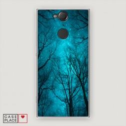 Cиликоновый чехол Сказочный лес на Sony Xperia XA2