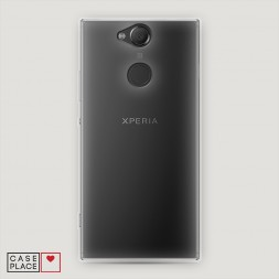 Силиконовый чехол без принта на Sony Xperia XA2